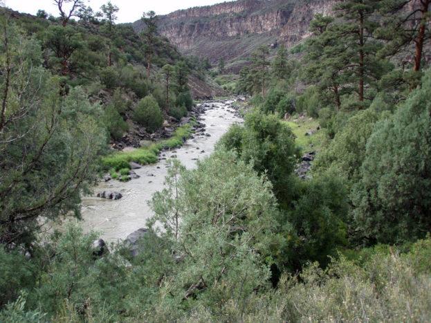 Rio Grande Gorge Wild Rivers Questa New Mexico