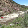 Rio Grande Gorge Whitewater Rafting Race Course Big Rock