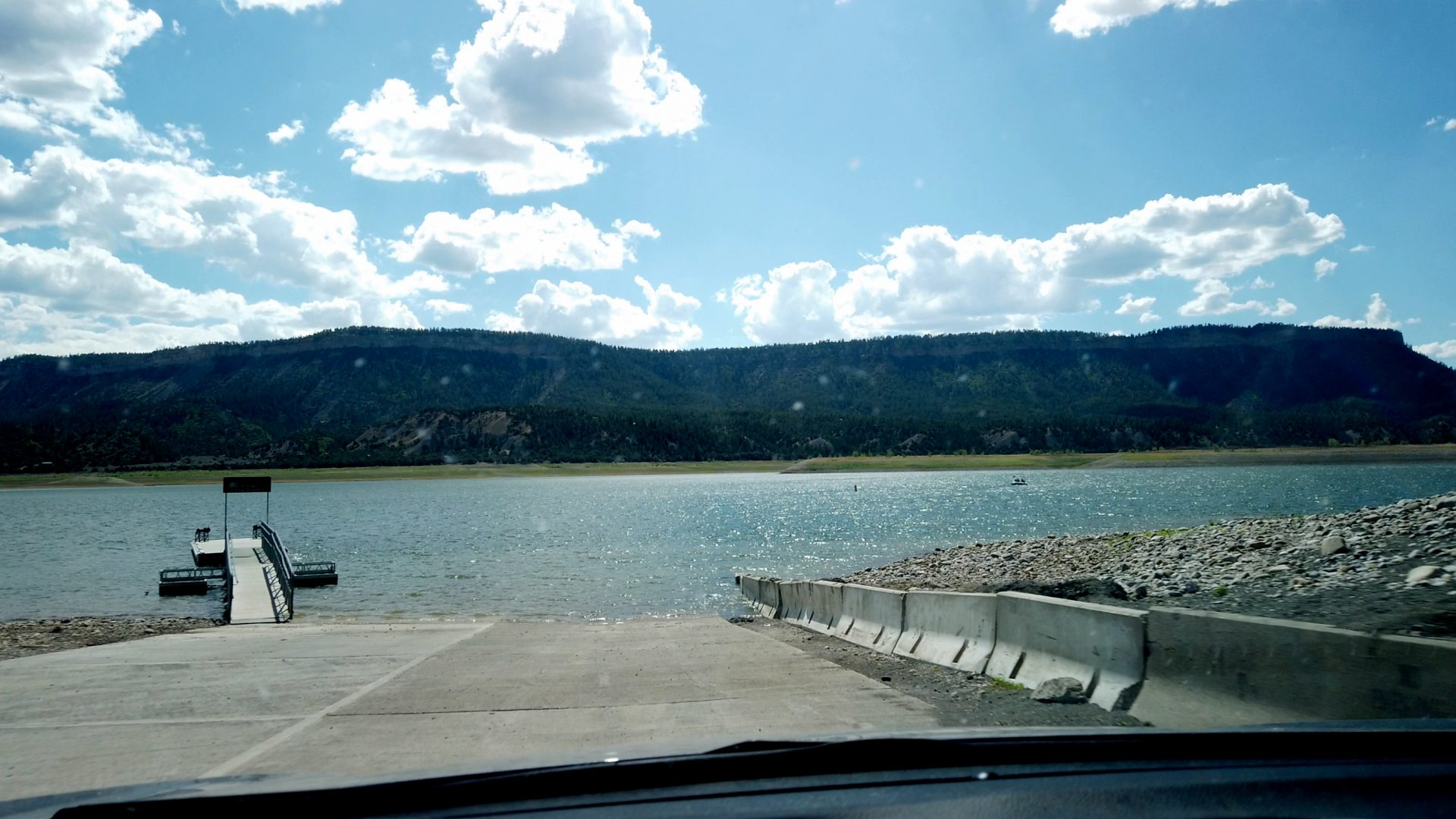 El Vado Lake State Park Boat Ramp
