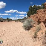 Hiking Galesteo Basin Preserve Cottonwood Trailhead Wash