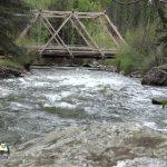 Rio Pecos Terrero Bridge Trout Fly Fishing Public Access