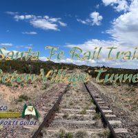 Hiking Santa Fe Rail Trail Seton Village Tunnel