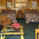 Mountain Shadows Lodge Poncho Villa – One room kitchen lodging for 4
